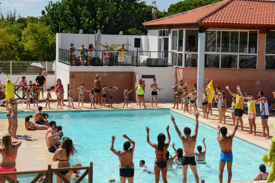 piscine Camping Le Fréjus dans le Var