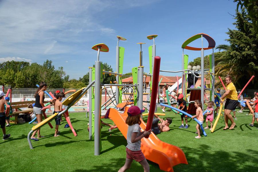 jeux enfants Camping Le Fréjus dans le Var