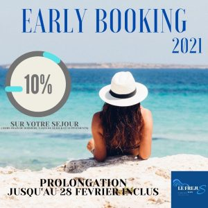 camping Fréjus : early booking 2021