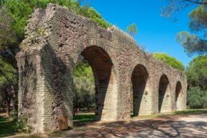 Aqueduc Romain de Fréjus, camping Fréjus
